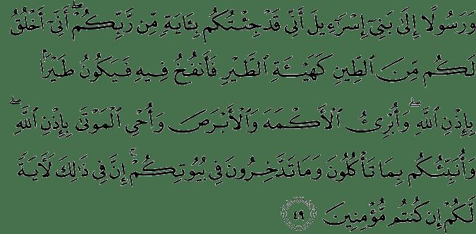 Quran 3_49
